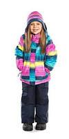 Зимний термокостюм для девочки от 6 до 10 лет (куртка и полукомбинезон), размеры 116-140 ТМ Nanö 278 M F14