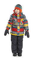 Зимний термокостюм для мальчика 6 лет (куртка и полукомбинезон) р. 116-122 ТМ Nanö 267 M F14
