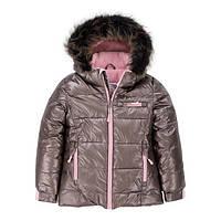Зимняя куртка для девочки 2-12 лет ТМ Deux par Deux P 820-150