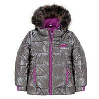 Зимняя куртка для девочки 2-14 лет ТМ Deux par Deux P 820-964