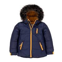 Зимняя куртка для мальчика 2-7, 12-14 лет ТМ Deux par Deux P 520-481