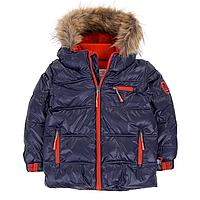 Зимняя куртка-пуховик POLYFILL для мальчика 2 лет (р. 92-98) ТМ Deux par Deux P 519-481