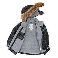 Зимняя куртка-пуховик POLYFILL для мальчика от 12 до 14 лет (р. 128-152) ТМ Deux par Deux P 519-999