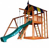 Игровой детский комплекс для дачи Babyland-6 ТМ SportBaby (игровая детская площадка)