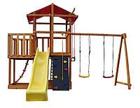 Детский игровой комплекс для улицы Babyland-5 (горка, песочница, скалолазка, качели...) ТМ SportBaby