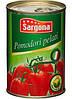 Помидоры без шкурки в собственном соку Pomodori pelati Sargona, 400 гр.
