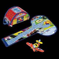 Игровой набор Конструктор Самолет + аэропорт (Airoport + Plane, Mic-O-Mic 098.040)