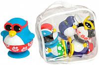 """Игрушка для ванны """"Пингвины на пляже"""" набор из 6 пингвинов в сумке для детей от 1 года ТМ Water Fun 23210"""