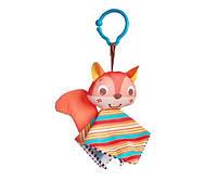 Игрушка подвеска – платочек «Белка» для детей с рождения ТМ Tiny Love 1110700458