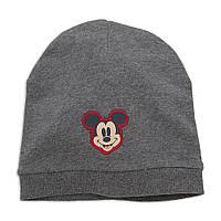"""Детская шапка для мальчика """"Микки Маус""""  12-18, 18-24 месяца, фото 1"""