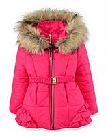 Детская зимняя куртка на девочку Малина, р.98,110