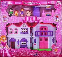 Кукольный домик с фигурками BS866-5Х