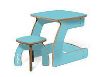 Комплект детской мебели Карапуз (стол+стул) для детей до 6 лет ТМ Мими Море