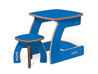 Комплект детской мебели Карапуз (стол+стул) для детей до 6 лет ТМ Мими Небо
