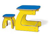 Комплект детской мебели Карапуз (стол+стул) для детей до 6 лет ТМ Мими Украина