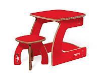 Комплект детской мебели Карапуз (стол+стул) для детей до 6 лет ТМ Мими Чили