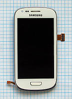 Модуль (дисплей + сенсор) Samsung i8190 Galaxy S3 Mini white original