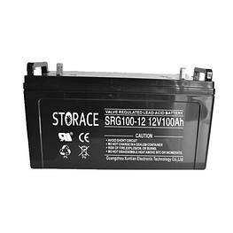 Аккумулятор гелевый - 100 Ач 12В GEL STORACE SRG