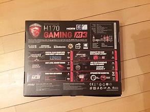 Материнская плата MSI H170 Gaming M3, фото 2