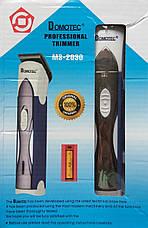 Триммер Domotec MS-2030  беспроводная машинка для стрижки волос  new, фото 3