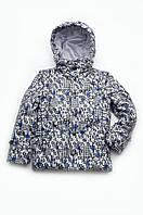 Куртка-жилет утепленная для мальчика 4-8 лет, р. 110-128 ТМ Модный карапуз (03-00597-0)