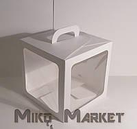 Коробка для Пряников 21*21*21 см с Окном