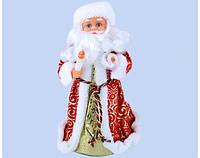 Новогодний Дед Мороз Музыкальная под Елку 25 см