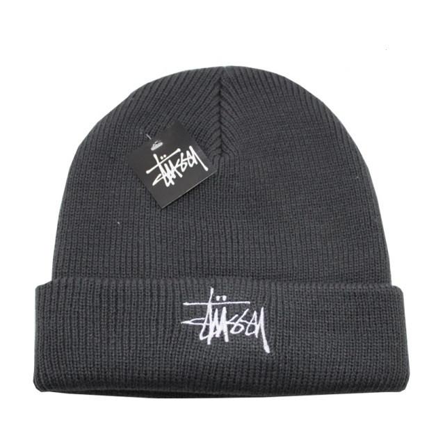 Разные цвета STUSSY шапки вязаные для взрослых и подростков шапка хлопок