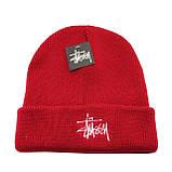 Разные цвета STUSSY шапки вязаные для взрослых и подростков шапка хлопок, фото 5