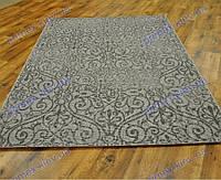 Безворсовый ковер-рогожка Balta Natura ажурная серый