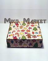 Новогодняя коробка Merry Christmas 2 150*150*50