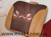 Массажная подушка 6 роликов + эффект сауны