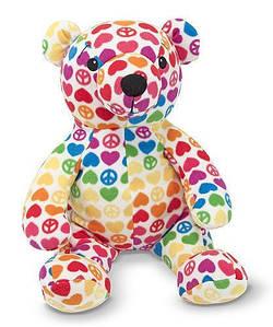 Медведь Hope, коллекция Beeposh. Melissa & Doug (MD 7200). Мягкая игрушка мишка.