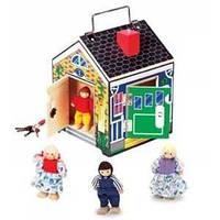 Музыкальный домик деревянный (Doorbell House, Melissa & Doug MD22505)