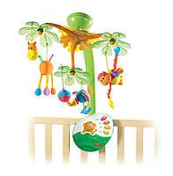"""Музыкальный мобиль """"Остров Мечты"""" с ночником и подвесными игрушками для детей с 0 мес. ТМ Tiny Love 1300806830"""