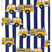 """Муфта для рук на коляску """"Хочу быть пожарным"""" ТМ Goforkid 9804-205-001, фото 1"""