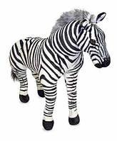 Мягкая игрушка - Гигантская плюшевая Зебра 1 м (Zebra – Plush) ТМ Melissa & Doug MD2184