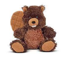 М'яка іграшка Бобер Чоппер, 23 см (Chopper Beaver) ТМ Melіssa & Doug коричневий MD7621