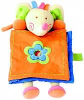 Мягкая игрушка-книжка Слоник. Развивающая текстильная игрушка ТМ Bino 86461