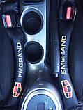 Подушка ущільнювач вставка між сидіннями з логотипом 2 шт, фото 3