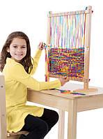 Набор для детского творчества - большой ткацкий станок (Multi-Craft Weaving Loom) ТМ Melissa & Doug MD19381