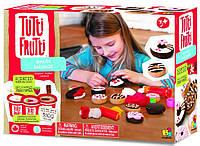 """Набор для лепки Tutti-Frutti """"Пончики"""" (3 баночки пластилина по 128г, формочки) ТМ BOJEUX BJTT14804"""