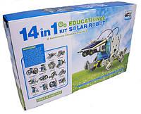 Обучающий конструктор - робот 14 в 1 на солнечной батарее