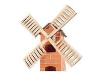 Набор для строительства  Ветряная мельница. Эко-конструктор из глиняных кирпичиков Teifoc TEI4040