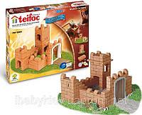 Набор для строительства Замок. Эко-конструктор из глиняных кирпичиков Teifoc TEI 3500