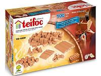 Набор для строительства Набор кирпичей. Эко-конструктор из глиняных кирпичиков Teifoc TEI4090