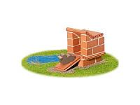 Набор для строительства Утиный домик. Эко-конструктор из глиняных кирпичиков Teifoc TEI1001
