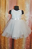 Платье  нарядное для девочки 2 - 4 года  праздничное