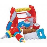 Набор мягких строительных инструментов. Melissa & Doug (MD3038). Мягкая игрушка.