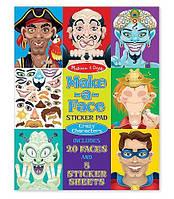 """Набор наклеек """"Сказочные персонажи"""" (Make-a-Face - Crazy Characters) ТМ Melissa & Doug MD4237"""